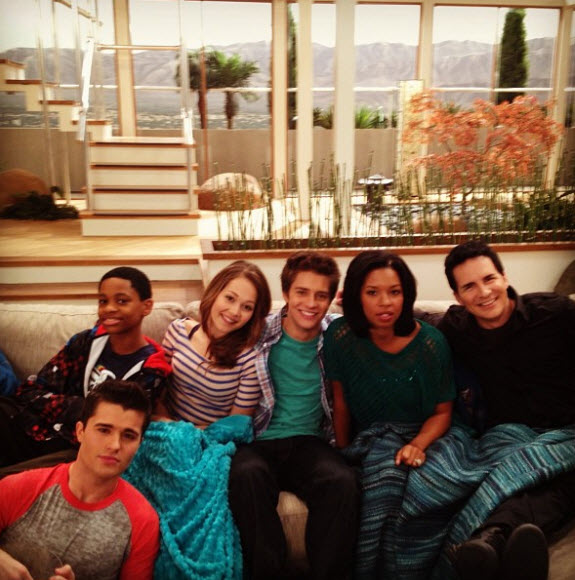 lab rats cast home